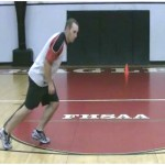2 Step Back Cone Drill