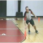 5 Yard Cone Cross Over Step Drill