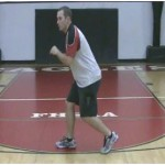 Backpedaling Reach Backs Drill