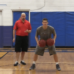 Between The Legs 2 Basketball Dribbling Drill