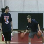 Circle 2 Basketball Dribbling Drill