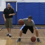 High Low Pound 2 Basketball Dribbling Drill