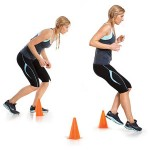 Lateral Cone Steps Drill
