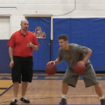 Reverse Circle 2 Basketball Dribbling Drill