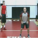 Reverse Hop Backs Drill