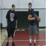Same Hand Behind the Back 2 Basketball Dribbling Drill
