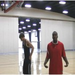 Band Resisted Back Board Touches Drill