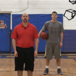 Alternating Between the Legs Dribbling Drill