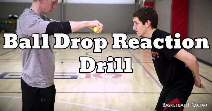 Ball Drop Reaction Drill
