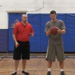 Basketball Slaps Dribbling Drill