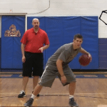 Between the Legs Behind the Back Dribbling Drill