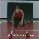 Between the Legs Continuous Dribbling Drill
