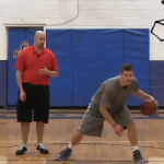 Between the Legs Crossover Dribbling Drill