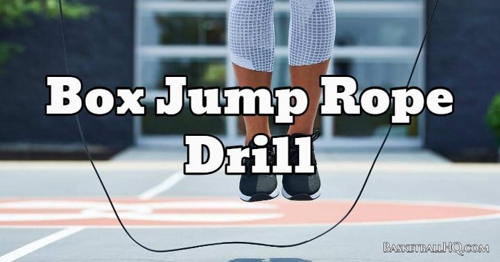 Box Jump Rope Drill