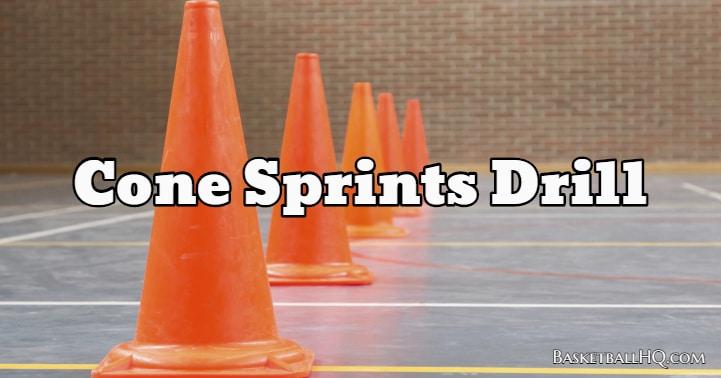 Cone Sprints Drill