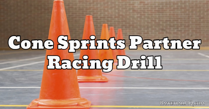 Cone Sprints Partner Racing Drill