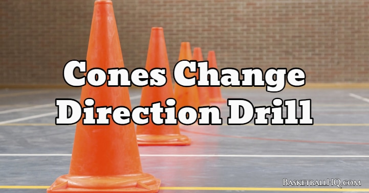 Cones Change Direction Drill