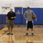 Cross Toss Tennis Ball Drill