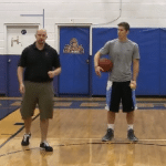Double Between the Legs Toss Tennis Ball Drill