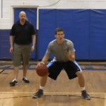 Double Cross Toss Tennis Ball Drill