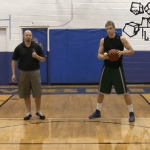 In and Out Toss Tennis Ball Drill