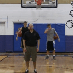 Layup Shooting Chair Drill
