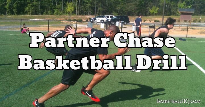 Partner Chase Basketball Drill