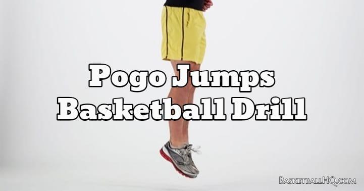 Pogo Jumps Basketball Drill