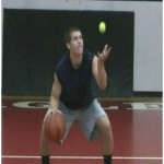 Pound Toss Tennis Ball Drill