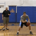 Reverse Between the Legs Toss Tennis Ball Drill