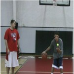 Rhythm Dribble Tennis Ball Toss Drill