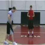 Staggered Stance Jump Rope Drill Alternating