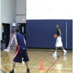 Step Back Crossover to Floater Finish Drill