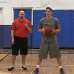 Two Hand Bounce Between the Legs Dribbling Drill