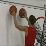 Wall 2 Ball Sweep Dribbling Drill