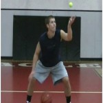 Windmill Toss Tennis Ball Drill