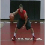 Windshield Wiper Cross Dribbling Drill