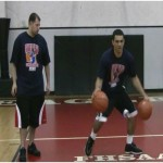 1 Dribble Double Between the Legs 2 Ball Drill
