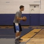 Bounce Pass Basketball Drill