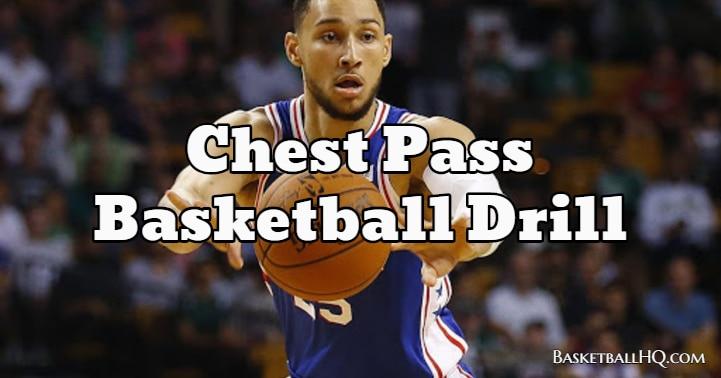Chest Pass Basketball Drill