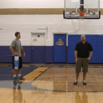 Off of the Dribble Push Pass Basketball Drill   Basketball HQ