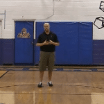 Overhead Pass Basketball Drill