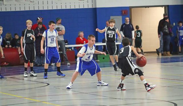 Children's Basketball Drills