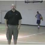 1 Dribble Toss Between the Legs