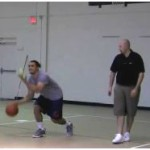 3 Dribble Toss Crossover