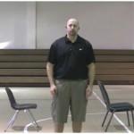 5 Chair 2 Ball Reverse Between the Legs