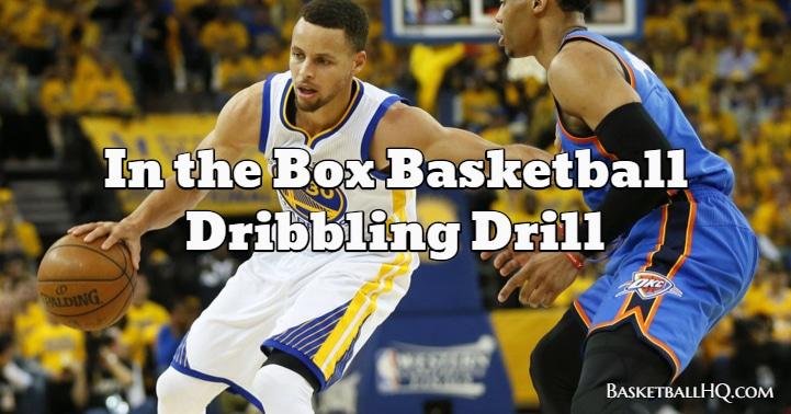 In the Box Basketball Dribbling Drill