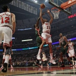 Noah Rebounding