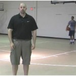 Toss Behind the Back Walking Tennis Ball Drill