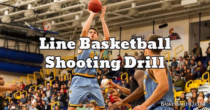 Line Basketball Shooting Drill